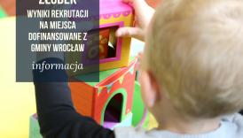 Czytaj więcej o: Wyniki rekrutacji do żłobków na miejsca dofinansowane z Gminy Wrocław